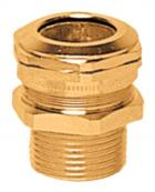 Ex-e cable gland CMDEL brass nickel plated NPT 2