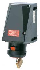 Ex-Maintenance Wall Socket 16 A 200 - 250 V/3P