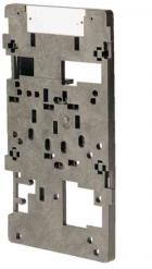 Mounting plate size 4 for wall mounting 16 A for GHG 531 4/5-pole