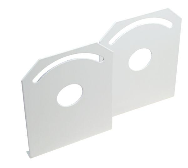 wall and ceiling mounting bracket for ex fluorescent light fitting rfl. Black Bedroom Furniture Sets. Home Design Ideas